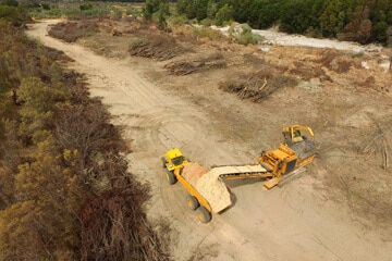 Môreson Grondverskuiwers Land Clearing Services